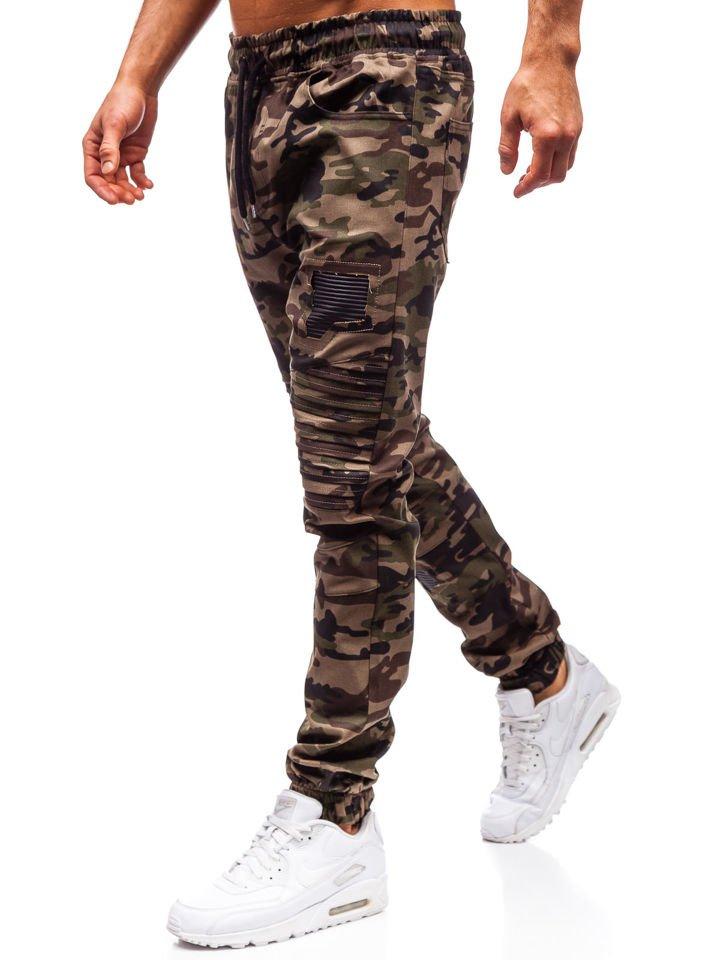 a53bc7acdb Férfi jogger nadrág terepszínű-zöld színben Bolf 0829 Zöld