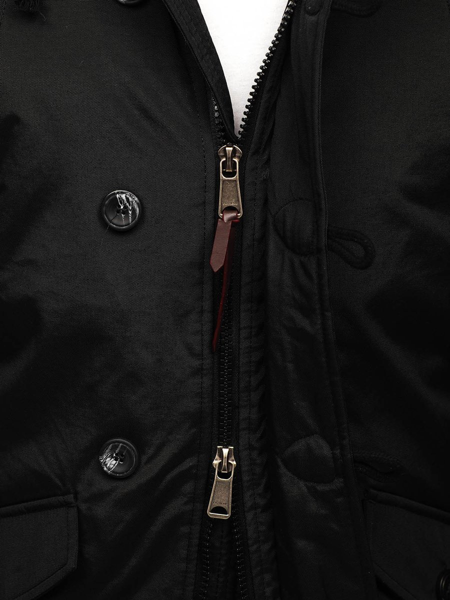 Férfi kapucnis téli parka kabát | Starstyle.hu
