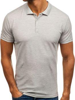 aee28a48fd Férfi pólóing szürke színben Bolf HS2005