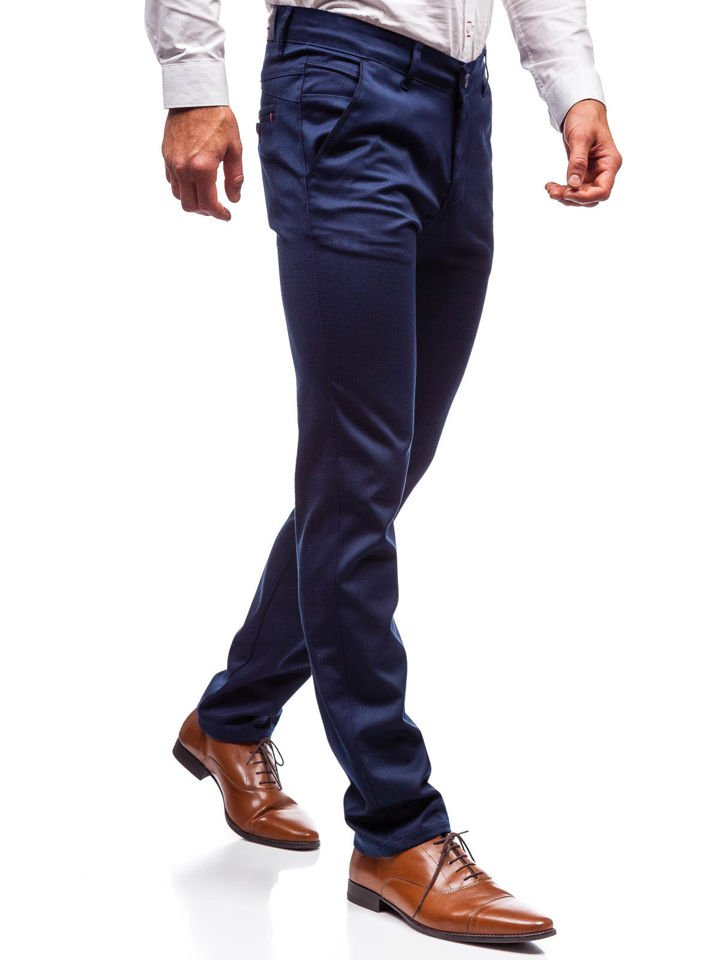 férfi alkalmivászon nadrágok