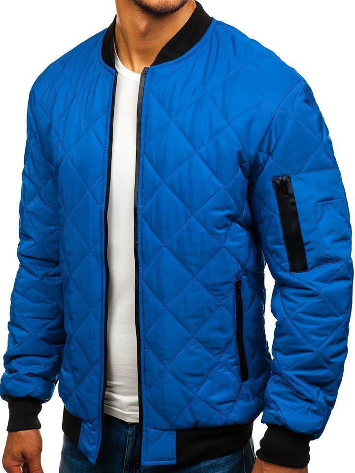 MA 1 bomber dzseki kék L