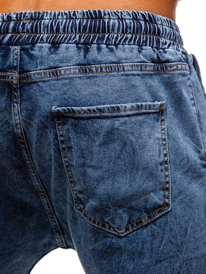 Farmer férfi baggy nadrág kék színben Bolf 2037