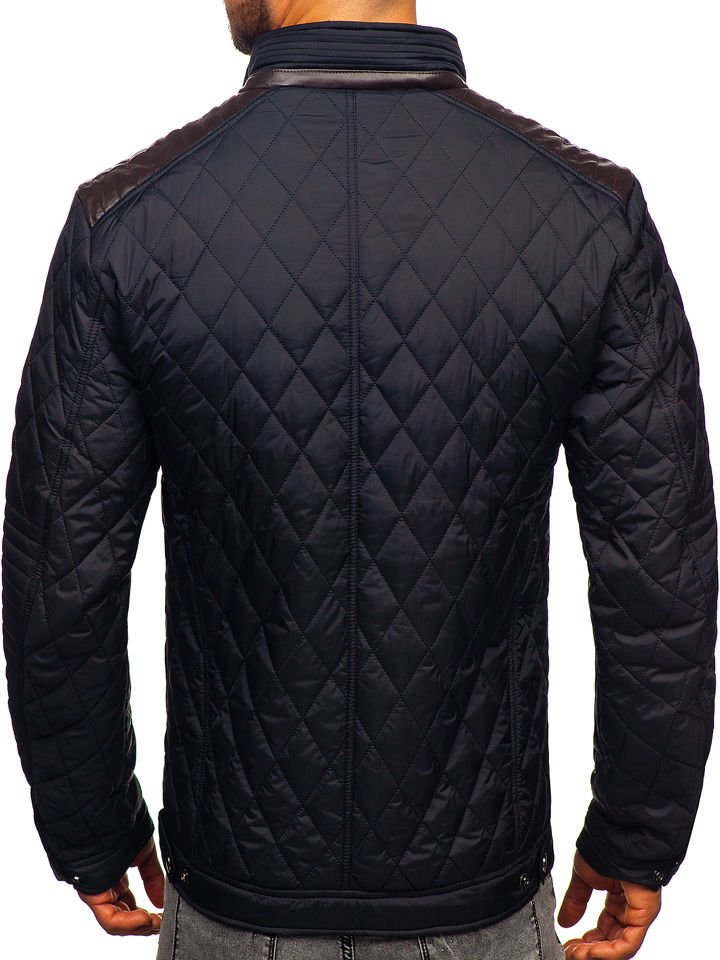 Férfi átmeneti dzseki fekete Bolf K007 Fekete