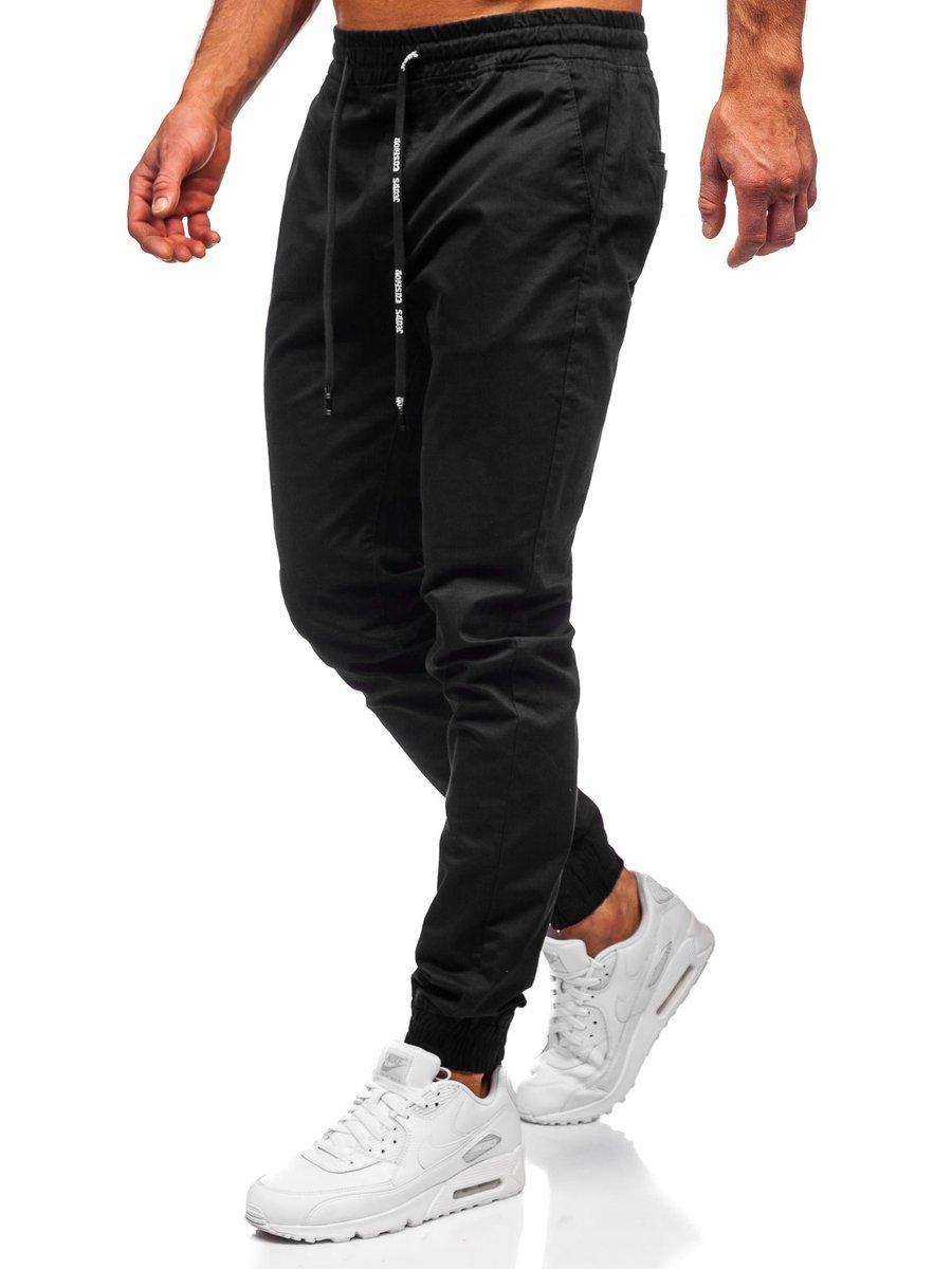 Férfi Jogger nadrág fekete | manCLOTHES.hu