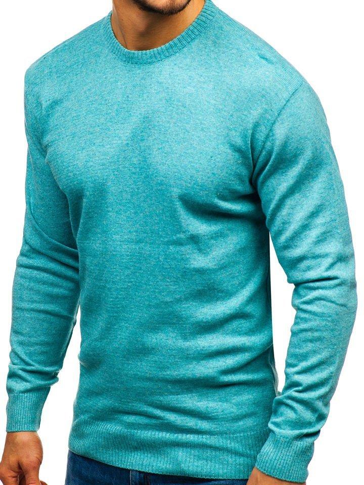445fd512cf Férfi pulóver menta színben a Bolftól 6001 Mentazöld
