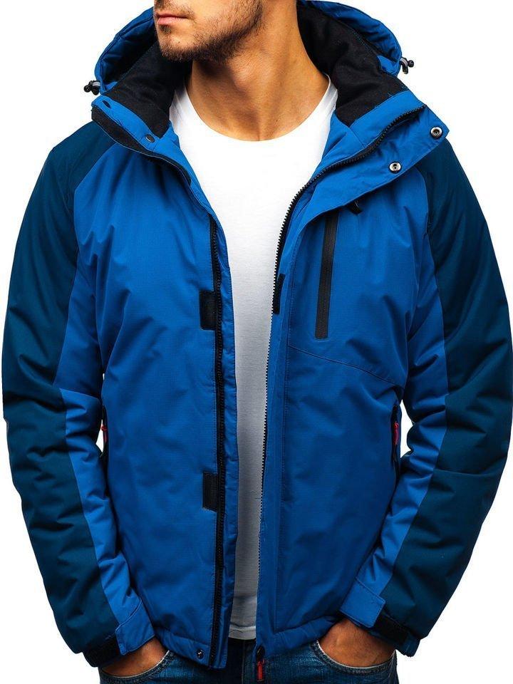 Téli férfi dzseki, kék | manCLOTHES.hu