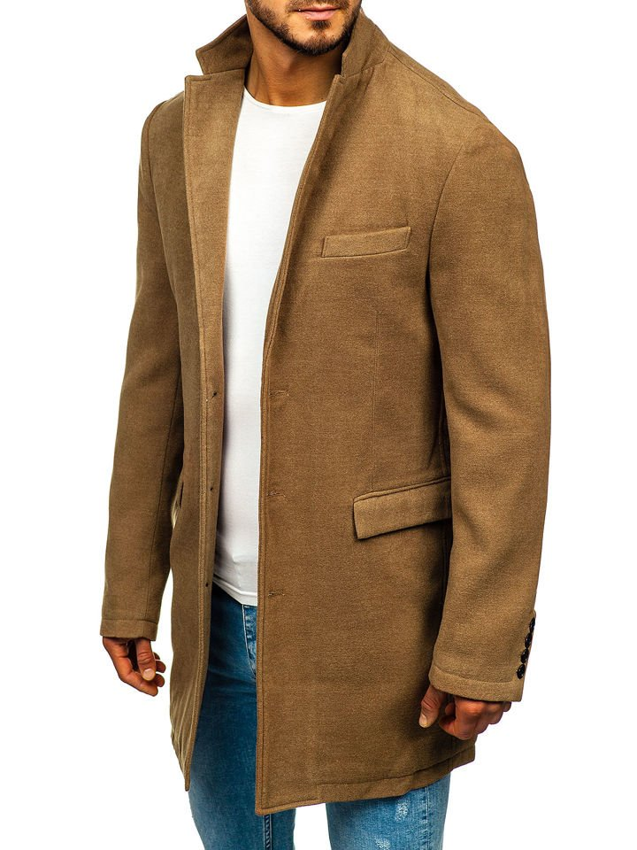 Férfi téli kabát camel Bolf 1047A