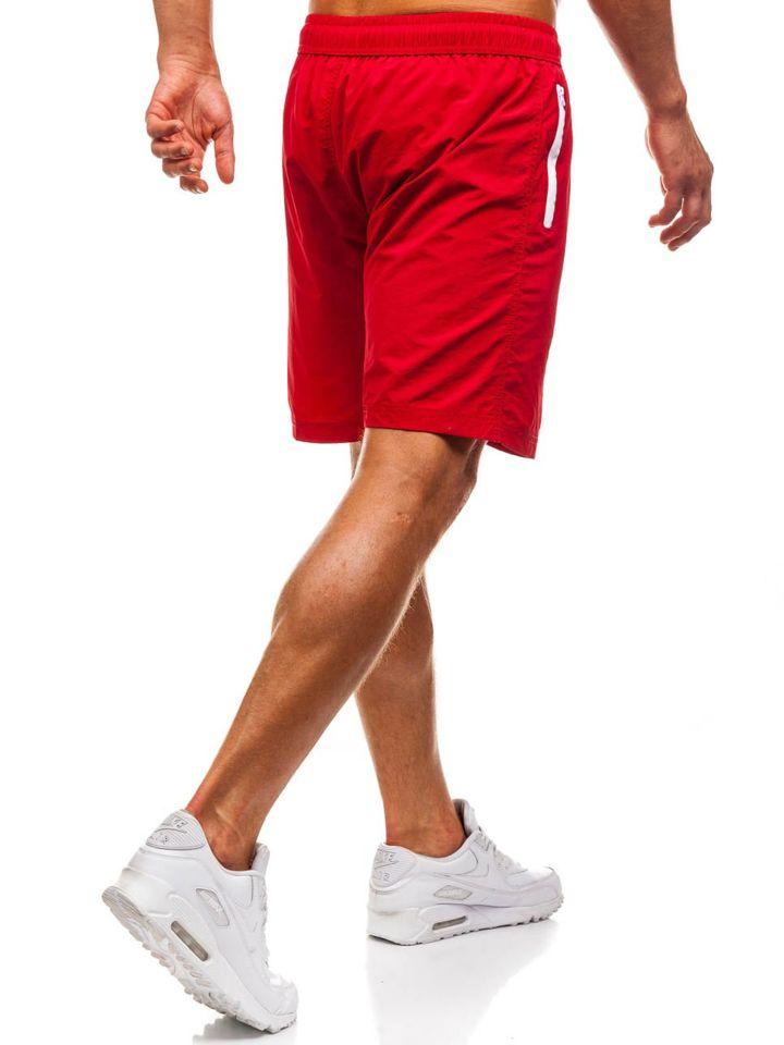 3ac0746b3e07 ... Rövid férfi fürdőnadrág piros Bolf 82249 ...