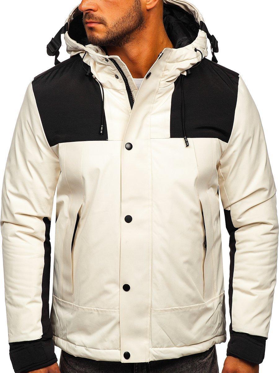 Steppelt téli férfi dzseki fehér Bolf J1905 Fehér