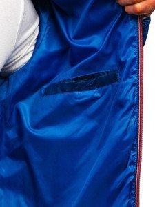 Férfi átmeneti sport dzseki kék Bolf 1908 Kék